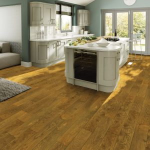 Tuscan Oak Engineered Wood in a Kitchen